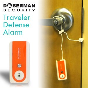 Doberman SE-0203OR Traveller Defense Alarm. Orange/White