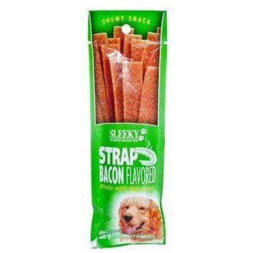 Sleeky Dog Snack Bar Bacon Flavor 50 G.(Pack Of 3)