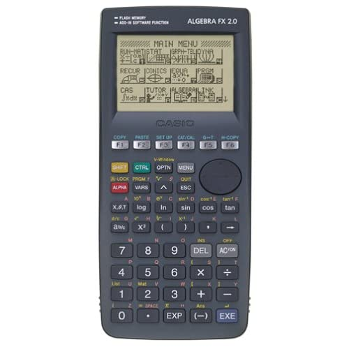 Amazon.com : Casio Algebra FX 2.0 Graphing Calculator : Electronics