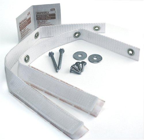 Quakehold! 4164 Furniture Strap Kit, White