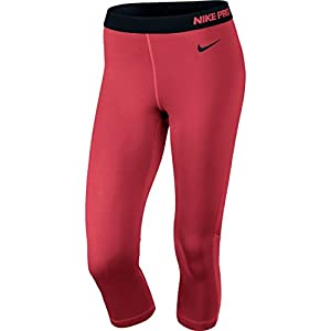 Nike Women's Drit Fit Pro Hypercool Training Capris-Coral-XL
