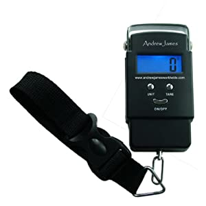 Andrew James Digital Luggage Travel Scales