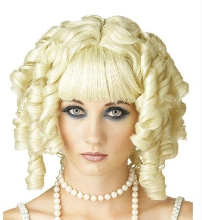 Costumes For All Occasions Mr177162 Wig Ghost Doll Blonde
