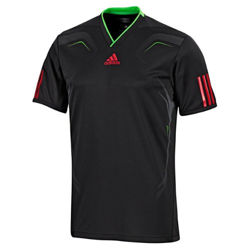 Adidas Boys Barricade Tennis T Shirt - Black - O59436