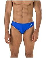Speedo Men's Xtra Life Lycra Solid Solar One-Inch Brief Swimsuit