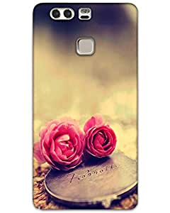 Webplaza Huawei P9 Plus Back Cover Designer Hard Case Printed Cover