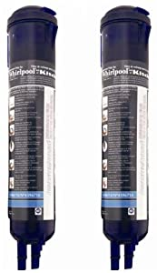 Whirlpool 4396710P KitchenAid PUR Push Button Cyst-Reducing, Side-by-Side Refrigerator Water Filter, 2-Pack