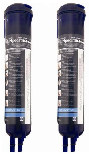 Black Friday 2013 Whirlpool 4396710P KitchenAid PUR Push Button Cyst-Reducing, Side-by-Side Refrigerator Water Filter, 2-Pack