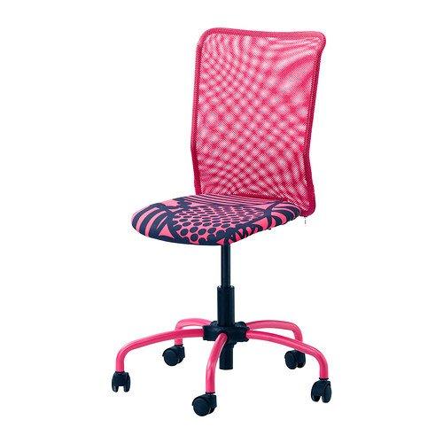 TORBJORN 回転チェア / ピンク [IKEA] 30217908