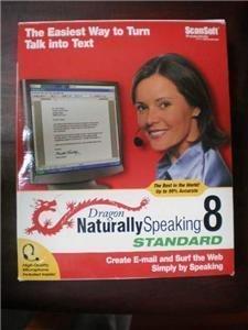 Dragon Naturally Speaking Standard 8