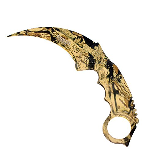 7.5 Defender Xtreme Hunting Knife Desert Camo Color With sheath