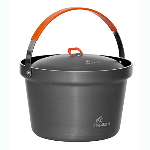 Outdoor Cookware 4-6 Person Rice Cooker Campfire Pot 3L