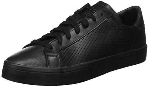 adidas Court Vantage, Scarpe da Ginnastica Basse Uomo, Nero (Core Black/Ftwr White/Core Black), 44 EU