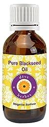 dève herbes Pure Black Seed Oil (Nigella sativa) 100% Natural Cold Pressed Therapeutic Grade (5-1250ml)