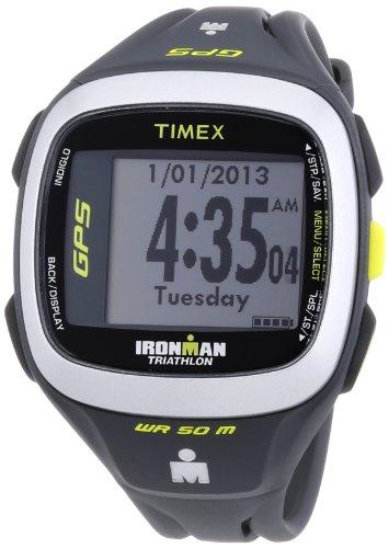 Timex Unisex-Armbanduhr Timex Ironman Run Trainer 2.0 GPS HRM Digital Quarz Plastik T5K743
