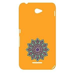 Skin4gadgets Artistically Drawn Mandala Tattoo In Pastel Colors -Orange, No.7 Phone Designer CASE for XPERIA E4