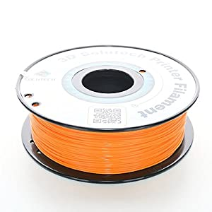 3D Solutech Real Orange 1.75mm PLA 3D Printer Filament 2.2 LBS (1.0KG) - 100% USA from 3D Solutech