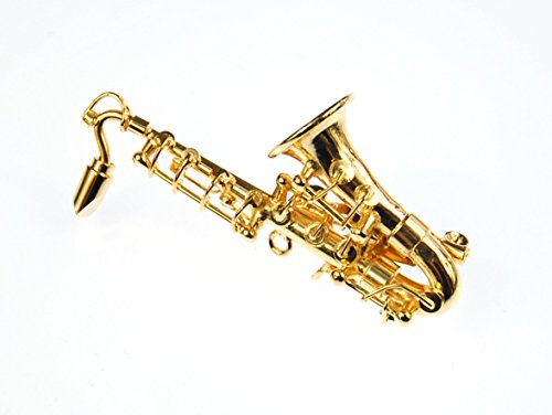 Saxofon-Brosche-Saxofonbrosche-Miniblings-Saxophon-Anstecknadel-Box-verg-Sax
