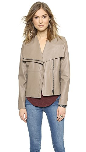 Bb Dakota Women'S Keaton Leather Jacket, Goat, X-Small