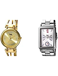 Watch Me Combo Gift Set Of Two Watches For Couple