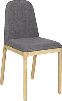 5 habitat bet chaise chaise en tissu gris clair cuisine maison maison m526. Black Bedroom Furniture Sets. Home Design Ideas