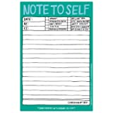 Knock Knock Hand-Lettered 6 by 9-Inch Note Pad, Note to Self