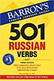 img - for 501 Russian Verbs (Barron's Foreign Language Guides) [Paperback] [2007] 3 Ed. Thomas R. Beyer Jr. Ph.D. book / textbook / text book