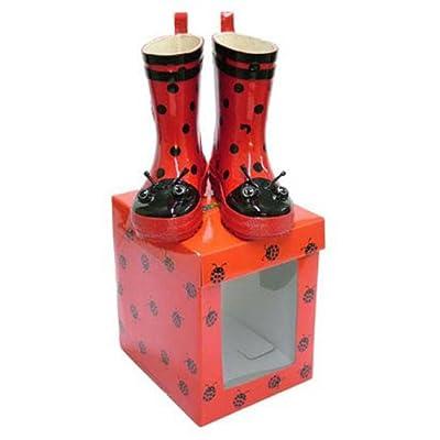 Ladybird Rain Boots by Kidorable