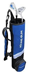 Young Gun BIRDIE BLUE Junior golf club set & bag for kids Ages 6-8 RH by Young Gun
