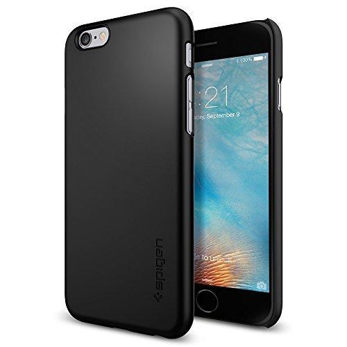 Spigen iPhone6s ケース, シン ・フィット [ パーフェクト フィット ] アイフォン 6s /6  用 (ブラック SGP11592)