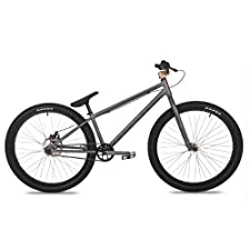 Dk Asterik Urban/Jump Bike With Black Rims (Charcoal/Gold, 26-Inch)