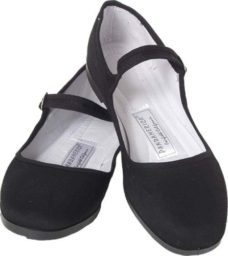 4d738a291fcc Black cotton mary jane chinese shoes size review jpg 446x500 Black cloth  mary janes