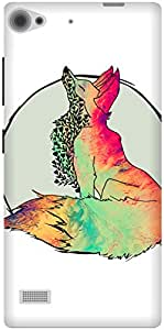 The Racoon Lean Foxy Vixen hard plastic printed back case / cover for Lenovo Vibe X2