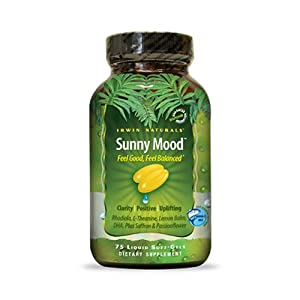 Irwin Naturals Sunny Mood -- 75 Liquid Softgels