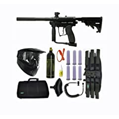 Buy Spyder MR1 Tactical Paintball Marker Gun SNIPER SET-Black by Spyder