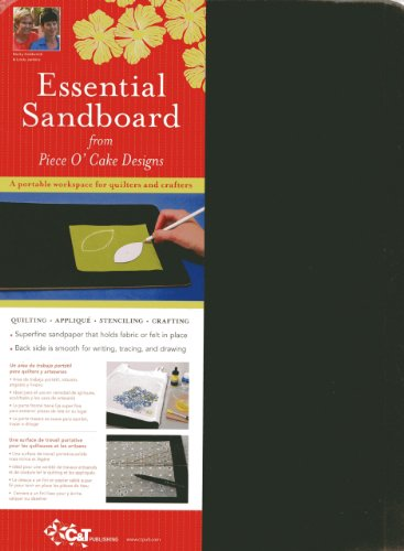 Essential Sandboard from Piece O' Cake Designs: quilting - applique - stenciling - crafting