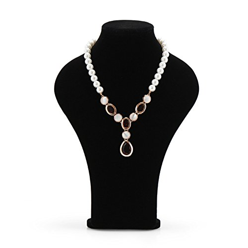 Qise Black Velvet Necklace Stand Display 3 Size (The Secret Service Tpb compare prices)