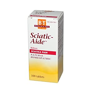 Boericke and Tafel Sciatic-aide - 100 Tablets pack of - 5