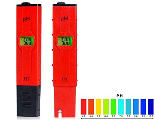 PH2011 Pen Design pH Meter with Temperature Compensation (Yellow)