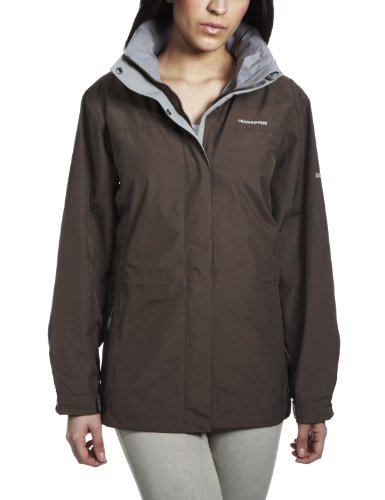 Craghoppers Kiwi Goretex Women's Waterproof Jacket - Cardamon, Size 12