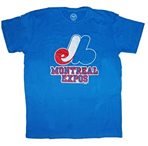 47 Brand Montreal Expos Adult Cool Down T-Shirt by
