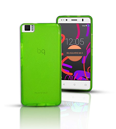 tbocr-bq-aquaris-m45-green-ultra-thin-tpu-silicone-gel-case-cover-soft-jelly-rubber-skin