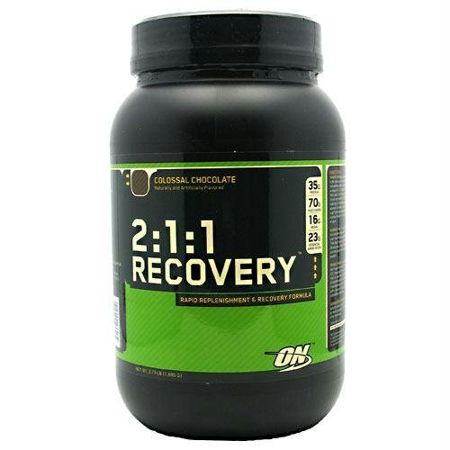 Optimum Nutrition 2:1:1 Recovery Colossal Chocolate -- 3.73