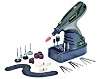 Genesis GLHT72-65 7.2V Lithium-Ion Rotary Tool with 65 Accessories Grey by Richpower Industries, Inc.