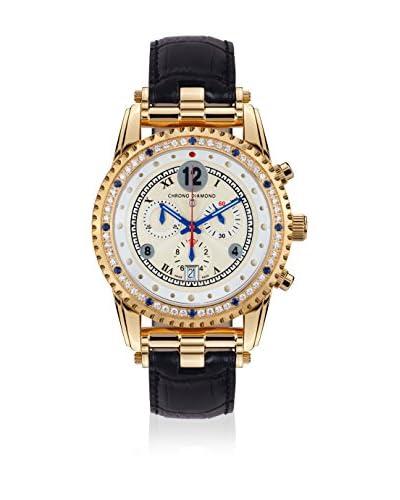 Chrono Diamond Reloj con movimiento cuarzo suizo 11300 Adone  45 mm