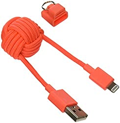 Native Union Key Cable Lightning Cable (Coral)