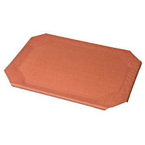 Coolaroo Replacement Cover for Steel Frame Pet Bed, Large, Terra Cotta