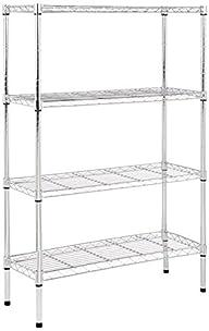 AmazonBasics 4-Shelf Shelving Unit -…