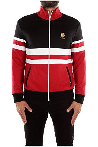 Felpe Love Moschino Uomo Poliestere Rosso, Nero, Bianco e Oro 310801M22534032 Rosso S