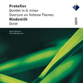 Prokofiev : Quintet in G minor Op.39 : I Moderato